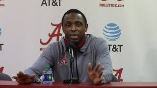 Avery Johnson talks about the SEC tournament