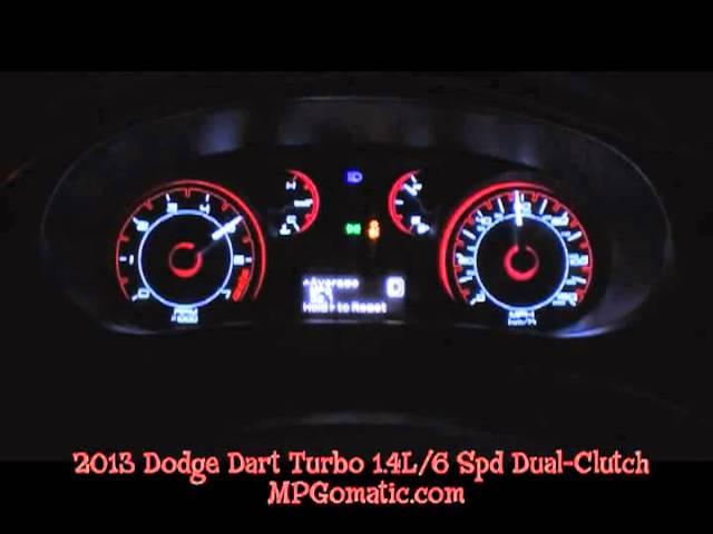 2013 Dodge Dart Rallye 1.4L Turbo 0-60 MPH - YouTube