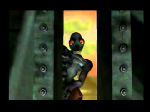 Abes Oddysee all cutscenes part 1