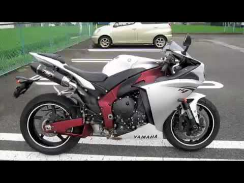 YAMAHA YZF-R1 2009 with Yoshimura Exhaust - YouTube