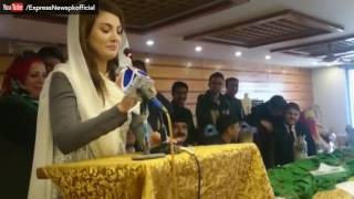 Reham Khan taunting funny joke on wedding for Imran Khan