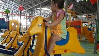 bé Soni đi chơi công viên Suối Tiên