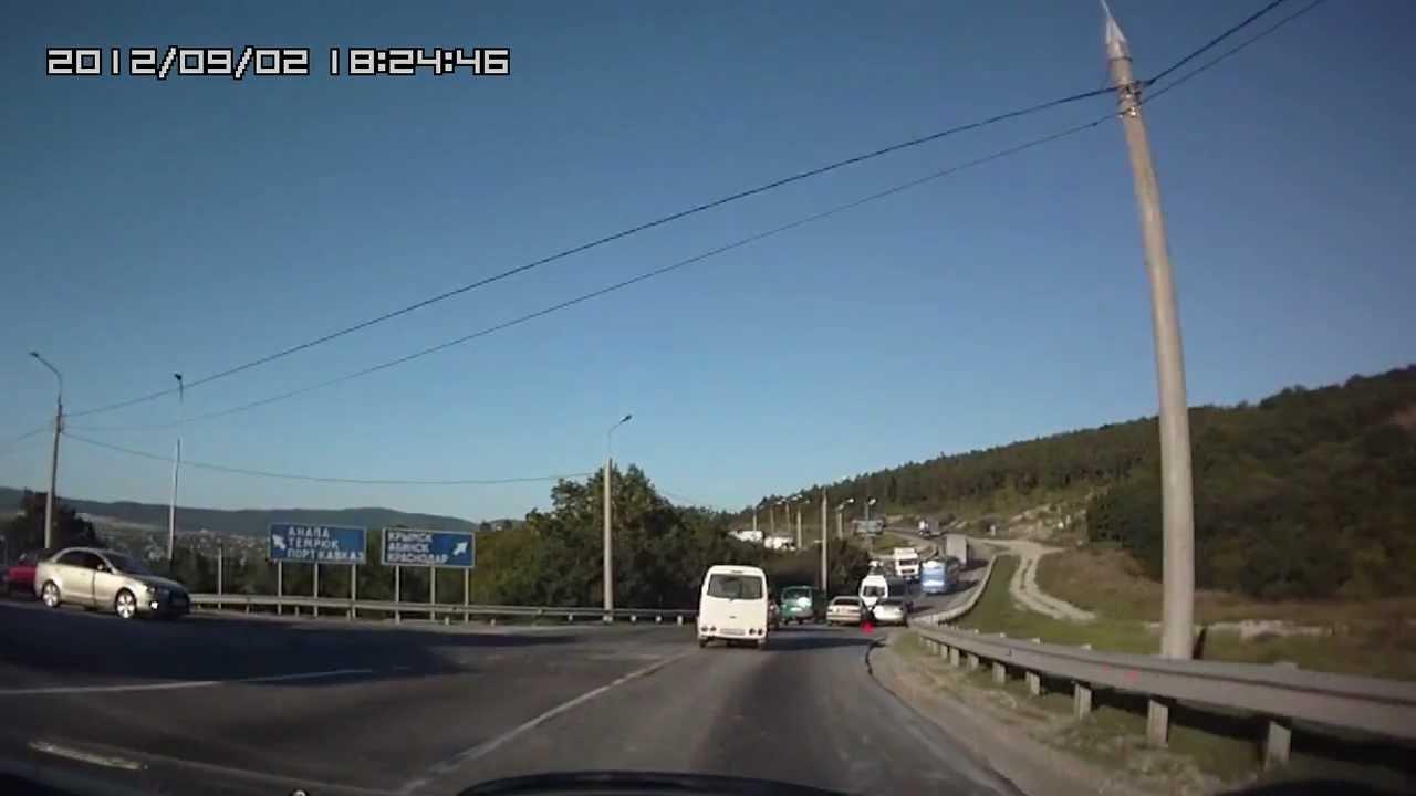 Состояние трассы А-146 Краснодар Верхнебаканский