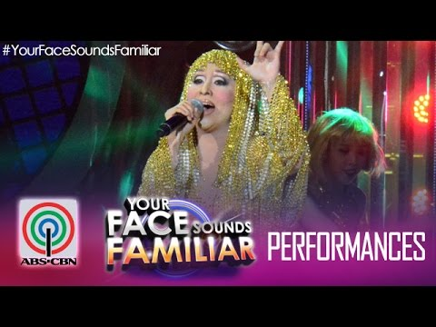 Your Face Sounds Familiar: Jolina Magdangal as Cher -