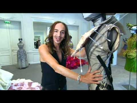  John Galliano: on some of his creations for the House of Dior 