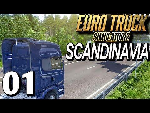 ETS2 SCANDINAVIA #1 Auftrag durch Schweden deutsch HD german EuroTruck Simulator