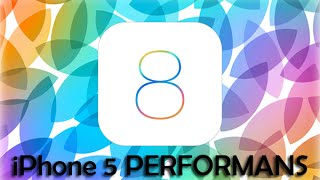 iPhone 5 iOS 8 İnceleme