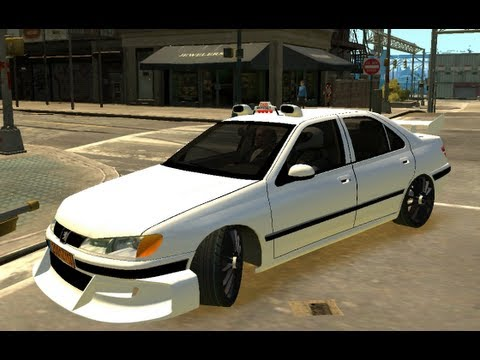 taxi 3 on gta4 peugeot 406 tuning taxi part 2 youtube. Black Bedroom Furniture Sets. Home Design Ideas