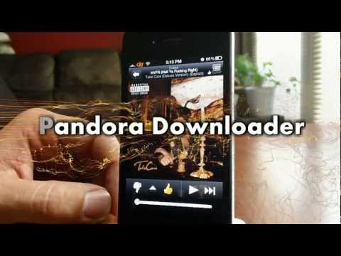 pandora downloader free cydia tweak for iphone ipod touch and ipad