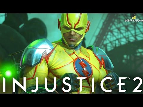 "REVERSE FLASH WITH THE BIG DAMAGE!! - Injustice 2 ""Reverse Flash"" Gameplay"