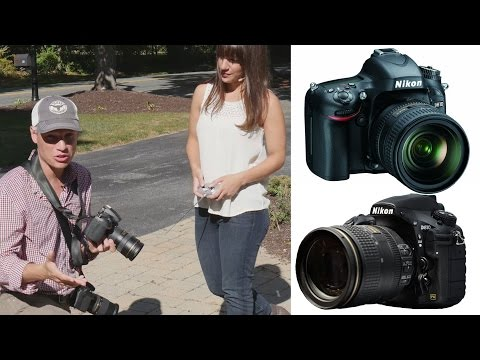 Nikon D610 vs D810 (and D750): Which Full Frame Camera should you Buy? (in 4k)