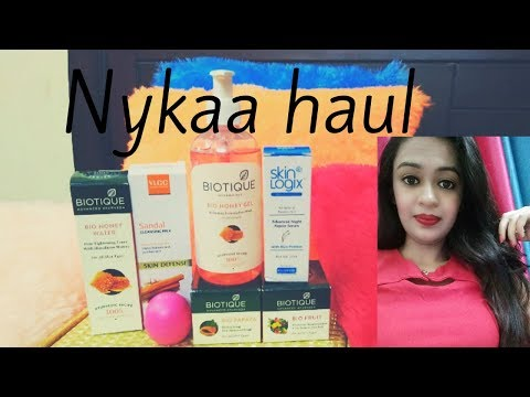 NYKAA HAUL  MAY 2018|| SUMMER SKINCARE PRODUCTS HAUL|| AFFORDABLE PRODUCTS