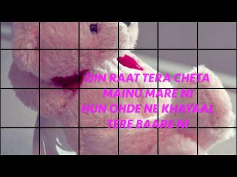 The Prophec Sajna Ve Sajna Lyrical Video #nsk video