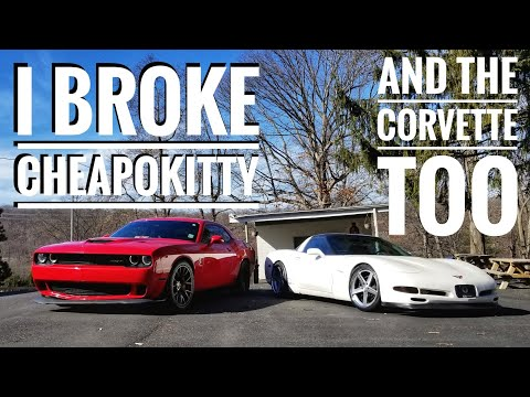 The Cheapest Hellcat is Broken Already : Challenger Problems