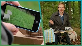 How To Make A DIY Camera Stabiliser - Cheap Shot Challenge - Earth Unplugged