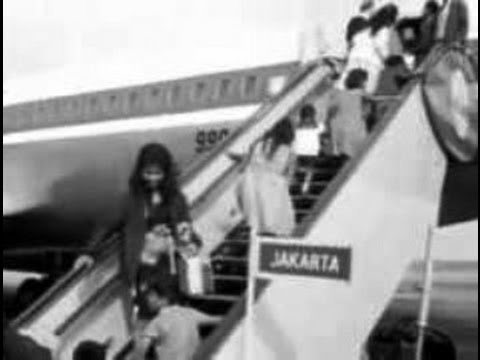 Indonesia- The First Garuda Airlines Passenger Flight to Europe- Tempo Doeloe