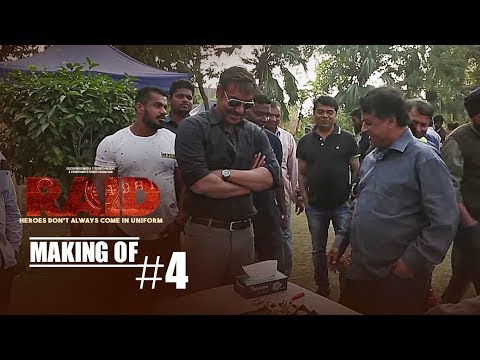 Making of Raid 4 || Ajay Devgn | Ileana D'Cruz | Raj Kumar Gupta