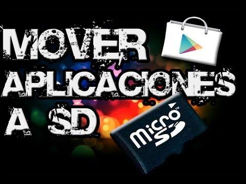 Mover aplicaciones a SD