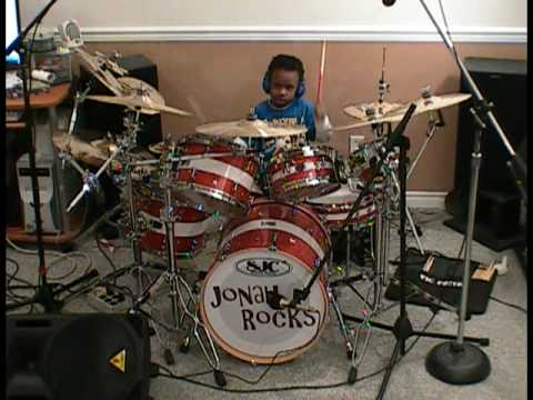 Dr. Feelgood, 5 Year Old Drummer, Jonah Rocks