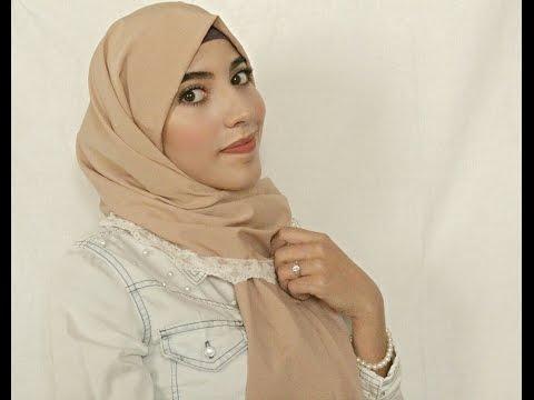 Turkish Hijab Style Tutorial , Universal Hijab Style For ...
