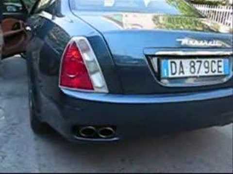 Maserati Quattroporte Executive GT start up and rev !