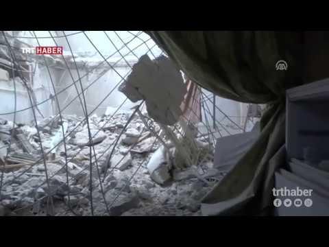 İdlib'te bir hastane daha savaş uçaklarının hedefi oldu.