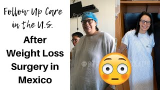 FOLLOW UP CARE AFTER WEIGHT LOSS SURGERY ❓ GASTRIC SLEEVE SURGERY IN MEXICO
