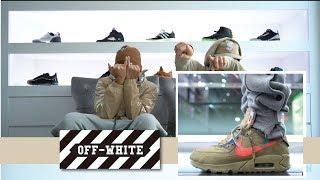 Off White Nike Air Max 90 On Feet Video Clip