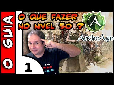 ArcheAge O GUIA . O que fazer no 50 ? #1 . Set de Armadura de Quest 1/2