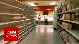 Why are people in oil-rich Venezuela going hungry?  BBC News