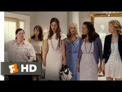 Bridesmaids movie clips: http://j.mp/1uysWBK BUY THE MOVIE: http://amzn.to/uyWPmr Don't miss the HOTTEST NEW TRAILERS: http://bit.ly/1u2y6pr CLIP DESCRIPTION: Two women battle to plan their...