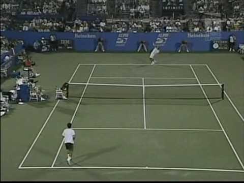 Pete Sampras vs Alex Corretja Only the tennis (5/6)