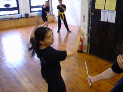 Female student Eskrima-Kali-Arnis Filipino Martial Arts at Kickfit Academy,Nottingham,UK Image 1