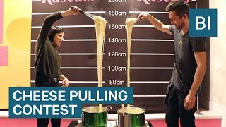 You Can Win Your Body-Weight In Cheese In This Cheese Pulling Contest