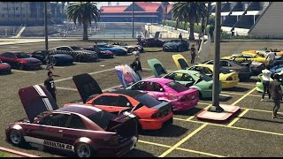 GTA 5 Gumball Car Meet And Cruise