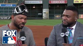 Howie Kendrick joins MLB on FOX crew after World Series victory | FOX MLB
