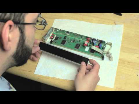BMW X5 and 5 series (e53) (e39) Radio Screen LCD repair - Part 2 - Repairing