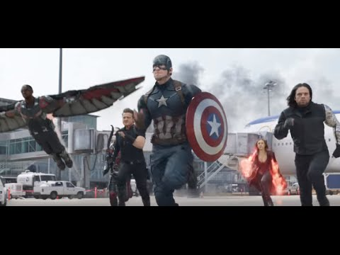 'Captain America: Civil War' |  Full Cast Interviews on Set