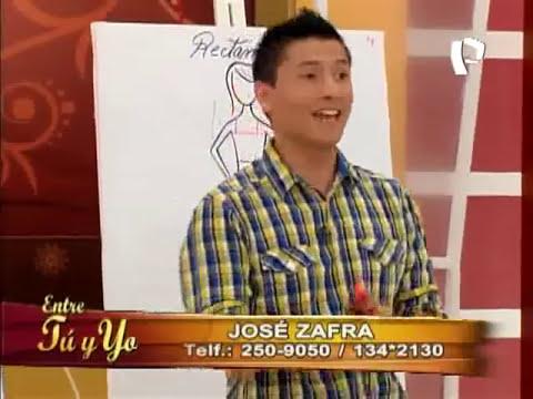 José Zafra te enseña cómo vestir según tu tipo de cuerpo