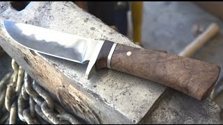 Making a Stainless San Mai Knife