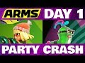 Lagu ARMS Party Crash DAY 1 Min Min Vs Helix!