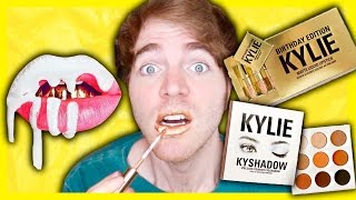 TRYING THE KYLIE JENNER BIRTHDAY KIT