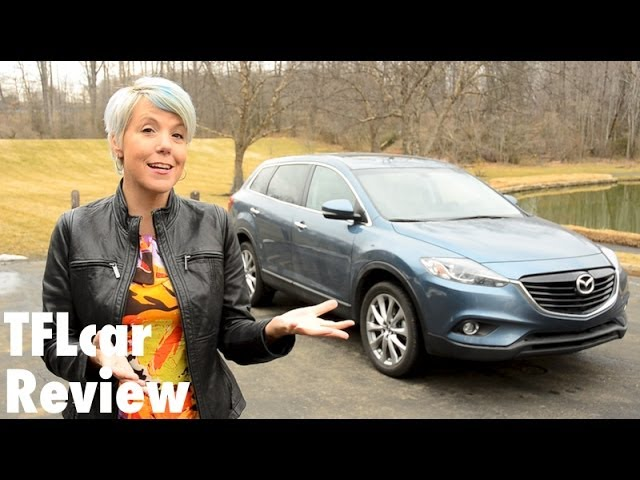 2014 Mazda CX-9 AWD Review: XXL Room & Zoom Zoom Fun?
