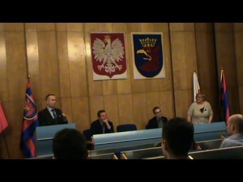 Szczeciński Budżet Obywatelski - Igrzyska śmierci? - Debata 31.03.2016 Część 1