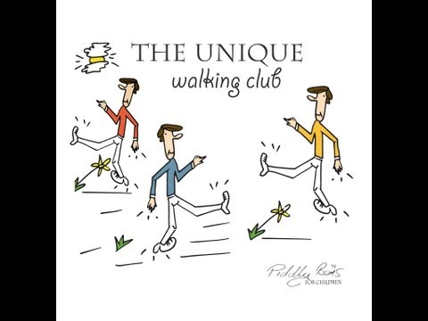 the Unique Walking Club  Poems For Children .. Kid's Poem Book From The Uk  Kid's Learn English video