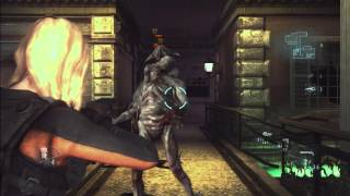 Resident Evil Revelations - Rachel Gameplay Trailer