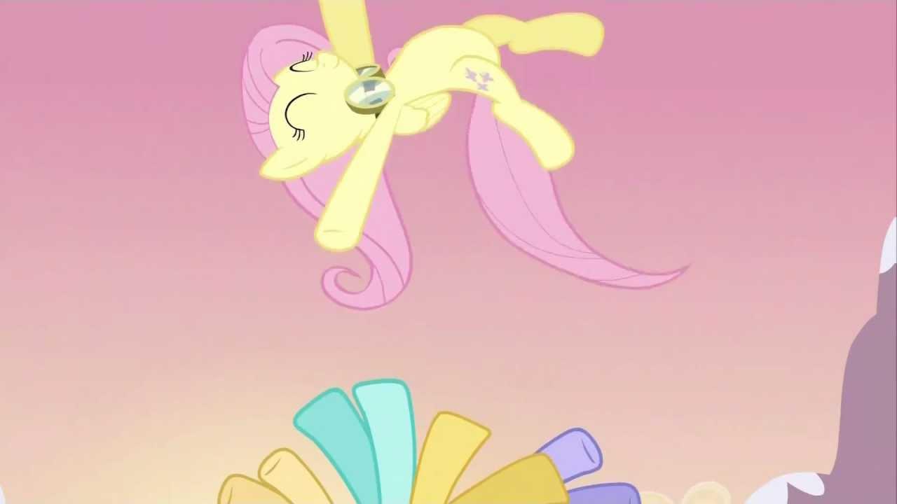 Fluttershy flying up