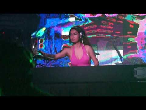 DJ Janice (Philiphines) on Friday party night (01/7) at Club Celebrities Miri, Malaysia 1