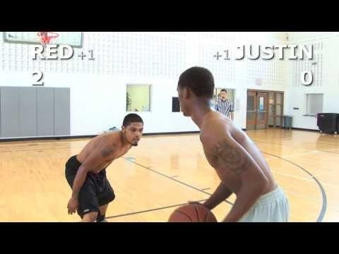 V1f - 1 On 1 Basketball, Game 037 (red Vs Justin) video