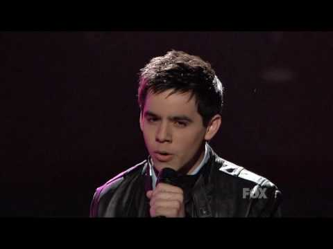 David Archuleta - And So It Goes (live)
